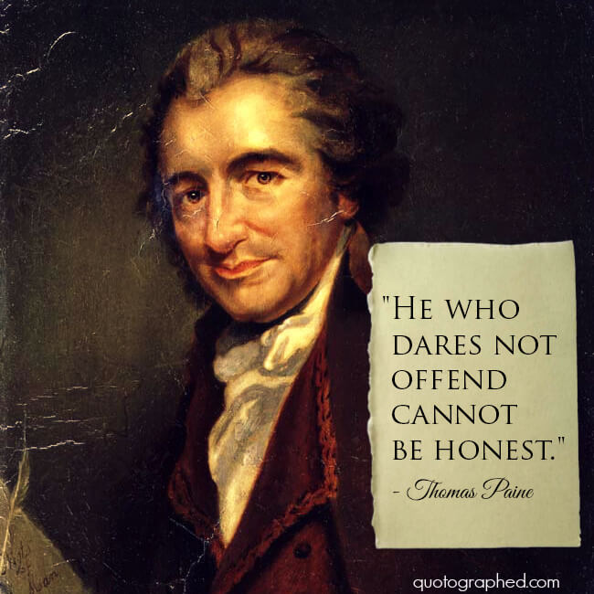 Thomas Paine Quotes: Great Truths & Quotes